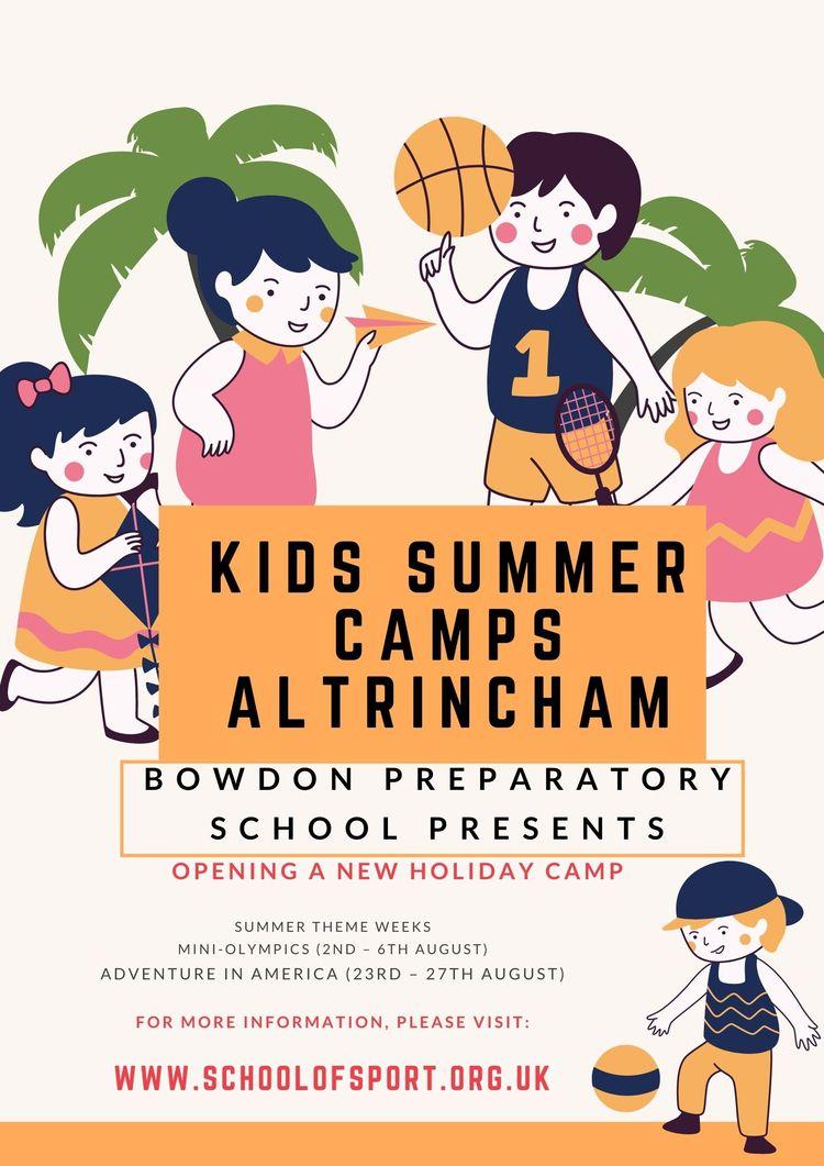 information Kids Summer Camps A - schoolofsports   ello