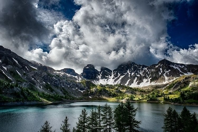 Lac Mercantour, Alpes de Haute - naxale | ello
