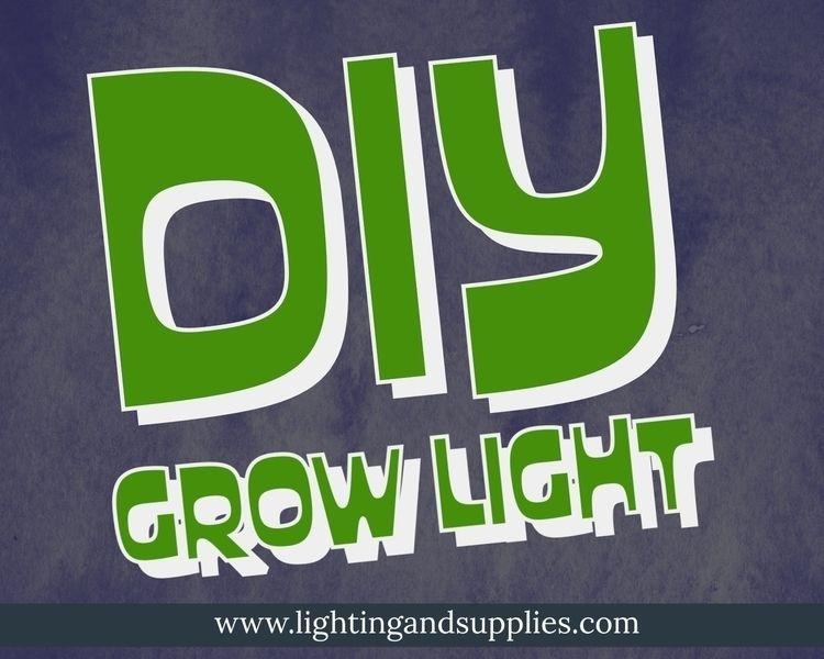 DIY Grow Lights light plants gr - lightingandsupplies | ello
