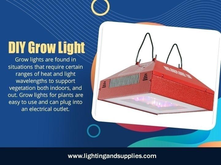 DIY Grow Light light plants gro - lightingandsupplies | ello