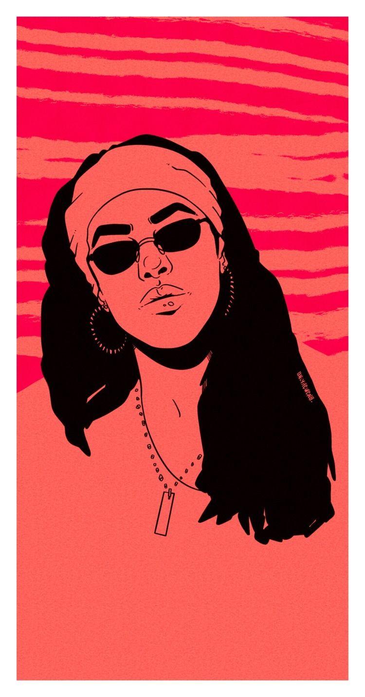 20 years aaliyah - art, procreate - onlyhevven | ello