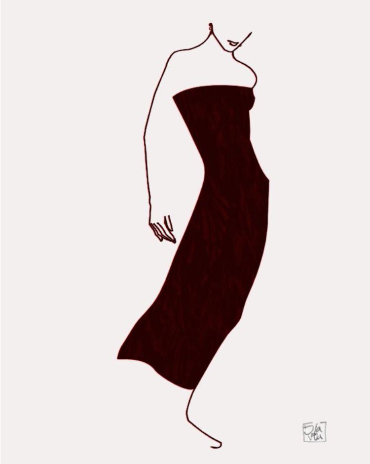 Minimalist illustration woman r - ilaviu | ello