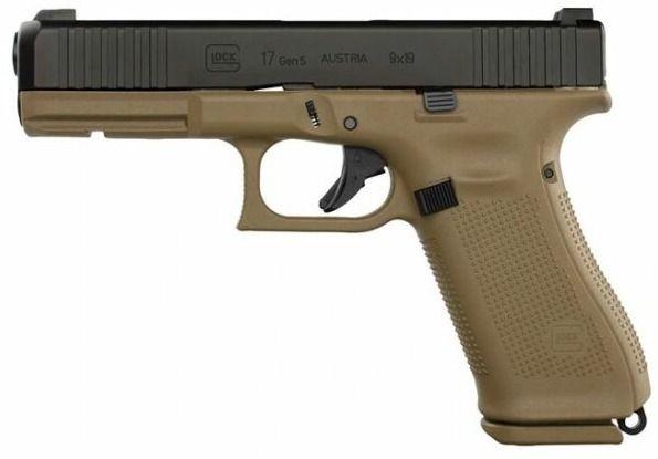 Pistole Glock G17 Gen5 fr Coyot - kgarms   ello