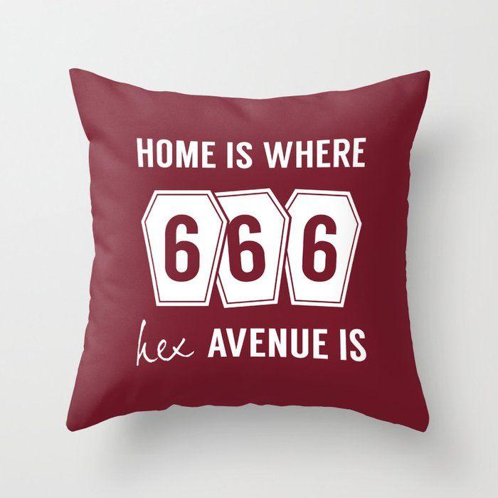 666 Hex Avenue Home Purple Thro - art-heart-and-alternative-mood   ello