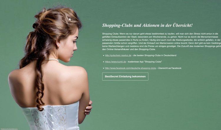 - Shopping-Clubs und Aktionen d - shoppingclub   ello