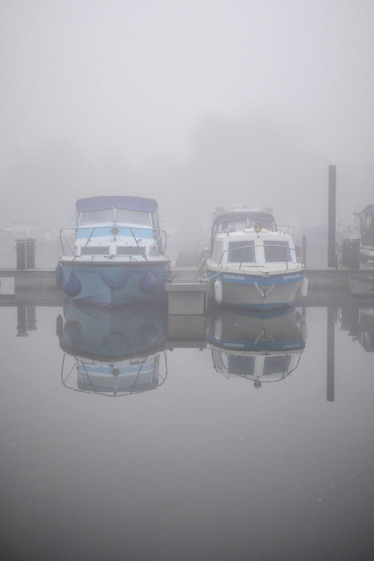 Misty marina morning - paulperton   ello