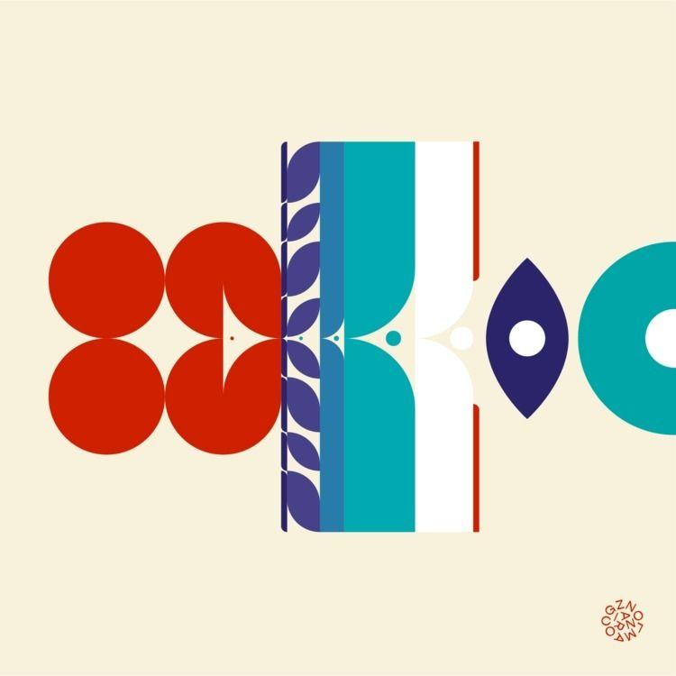 design, graphicdesign, geometric - gzanol   ello