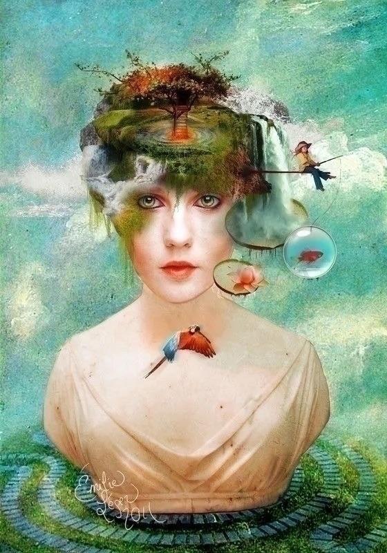 Emilie Léger Canadian artist ca - jolandasdreamworld   ello