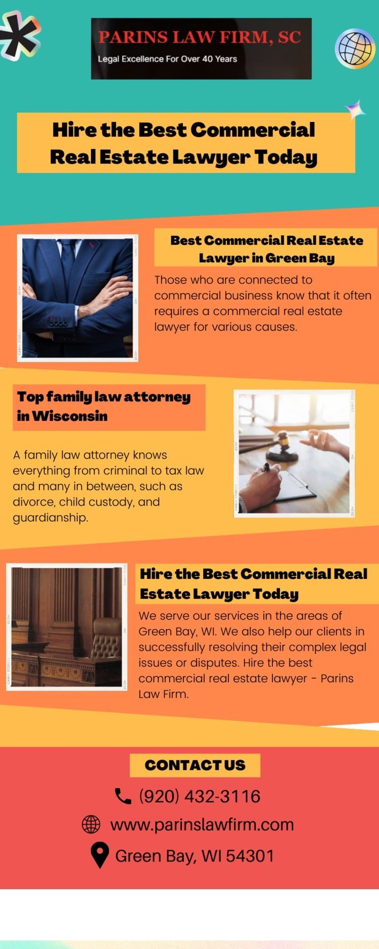 Hire Commercial Real Estate Law - parinslawfirm | ello