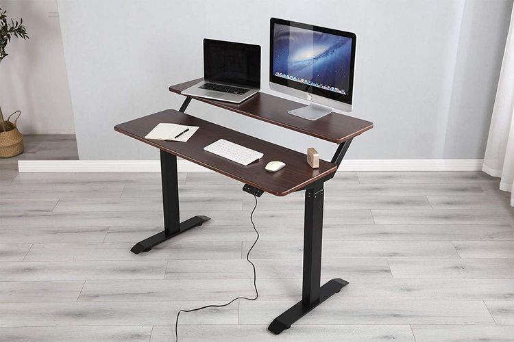 Electric Standing Desk great in - raccoonanonymous   ello
