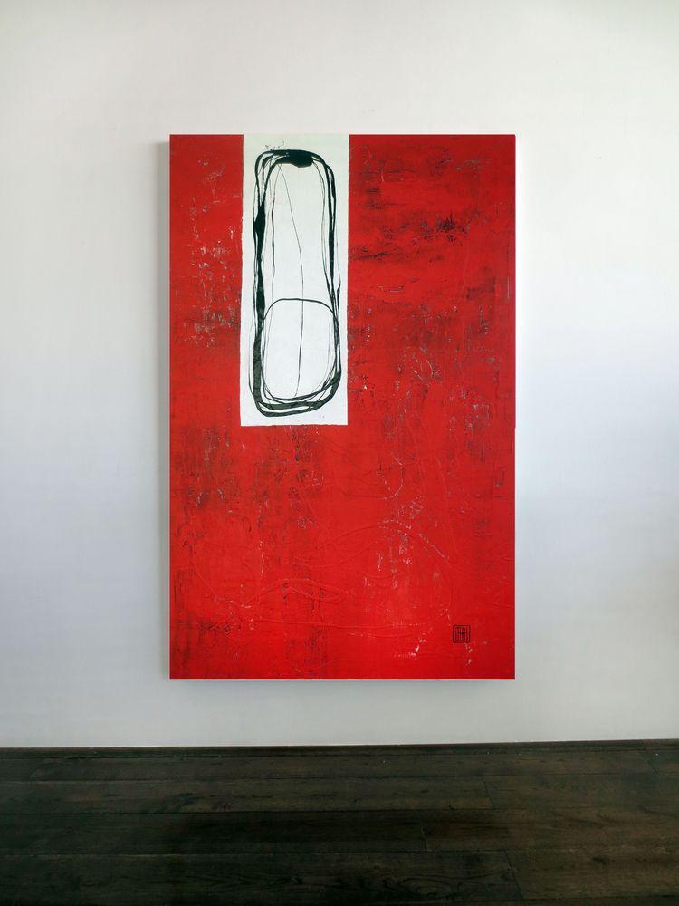 A123 acrylic canvas 160x100x4cm - damianpavlovic   ello