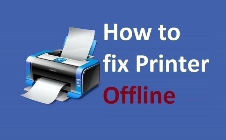 Fix HP Printer Offline Windows  - ameliasampson   ello