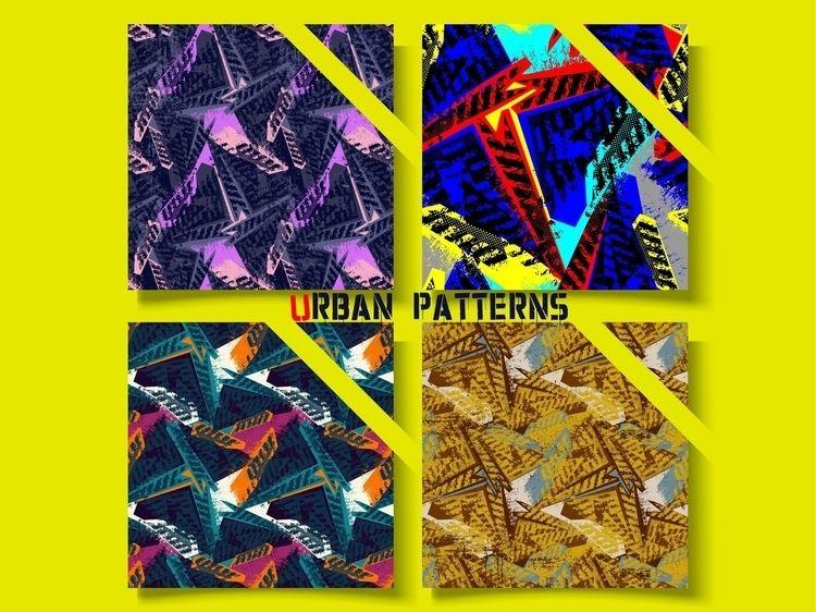 Abstract urban geometry pattern - yaninja   ello