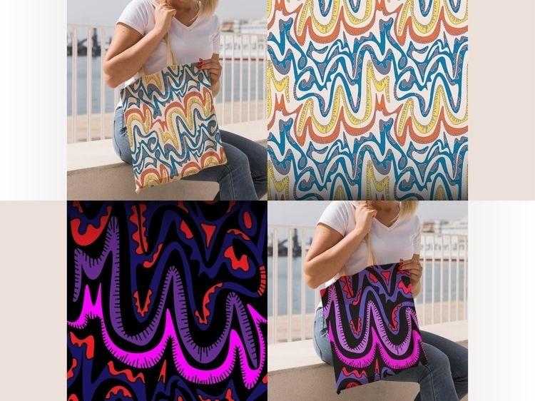 Seamless pattern textiles creat - yaninja   ello