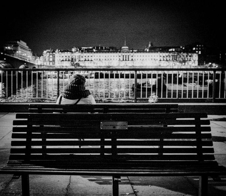 Late night Thames - London, fujifilm - shootingrich | ello