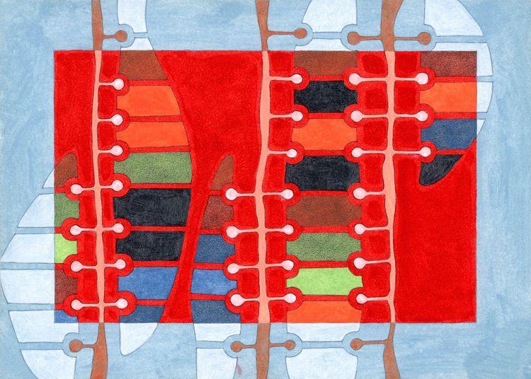Cipher. Oil pencil paper, 21 15 - federicocortese | ello