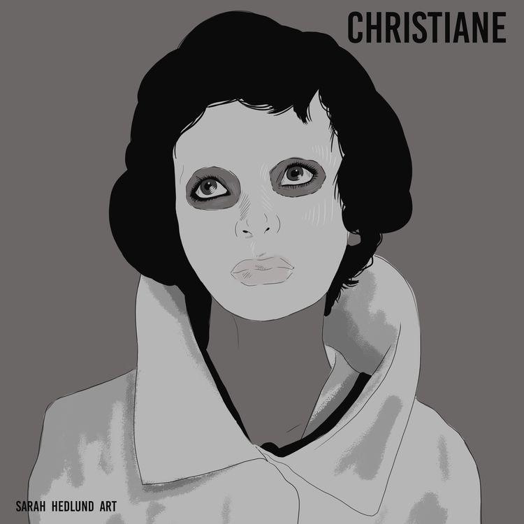 Woman Standing Day 22: Christia - sarahhedlunddesign | ello