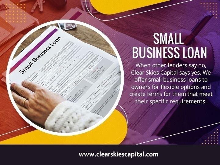 Small Business Loan small busin - clearskiescapital | ello