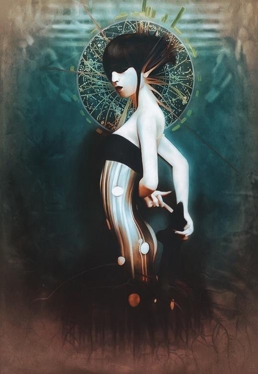 Ekaterina Zagustina - self-portrait - Sanity Saint.jpg