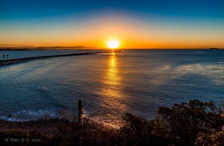 Sunrise at Cabrillo Beach Bluff.jpg