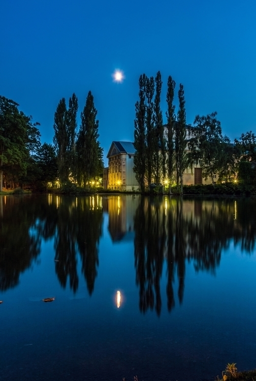 Robert Emmerich - 86 NLE Long exposure with some nice reflections in Meiningen - Germany.jpg
