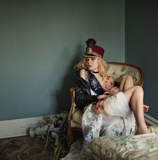 Smells Like Teen Spirit. Photography by Boo George. Fashion editor Christine Centenera. Model Elle Fanning. For Vogue Australia. 12.jpg