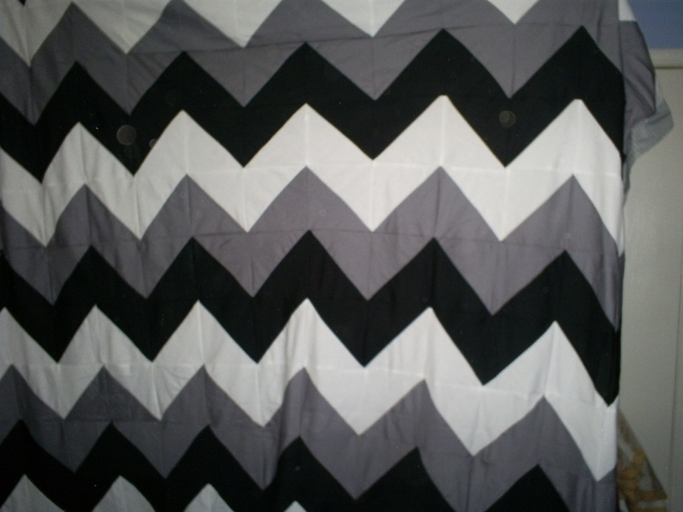 Chevron quilt top for my youngest son.JPG