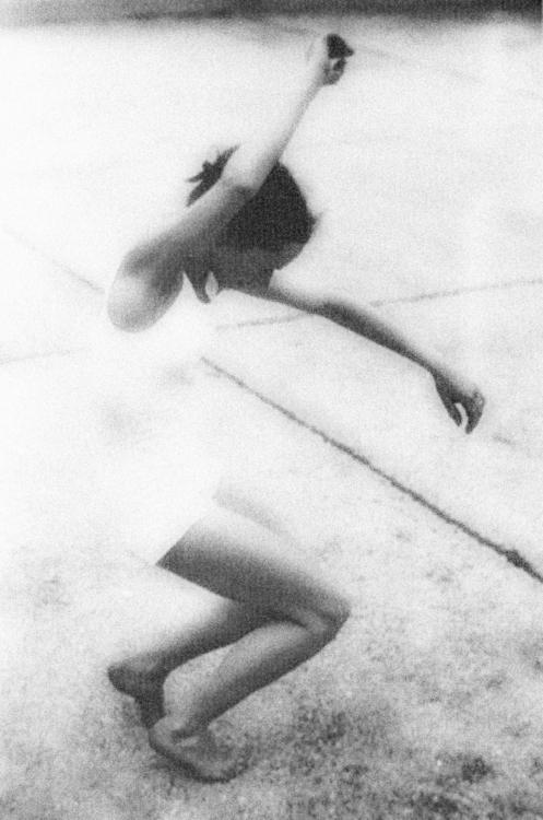 Jeane Renaud dancing on a Paris rooftop, 1950. ~ 12472286_266408193692467_4663511043353251108_n.jpg