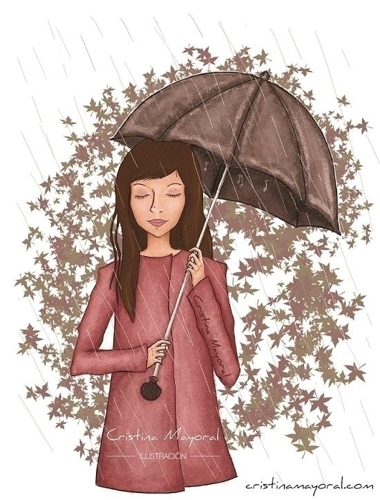 chica-paraguas-ilustracion-otoño-lluvia-cristina-mayoral-ilustradora-1.jpg