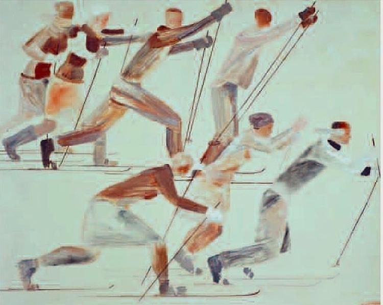 Aleksandr Aleksandrovich Deyneka 1899-1969 1931 Skiers Tretjakoff.jpg