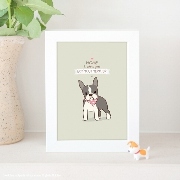 pic print home is where boston terrier is.jpg