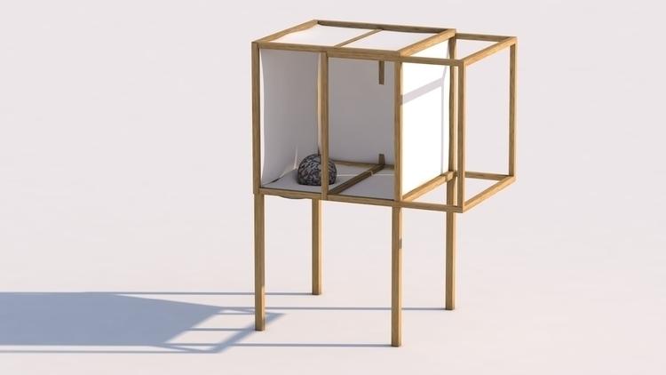 Mobilier contemporain cinema4d berenicegolmann ello for Mobilier contemporain