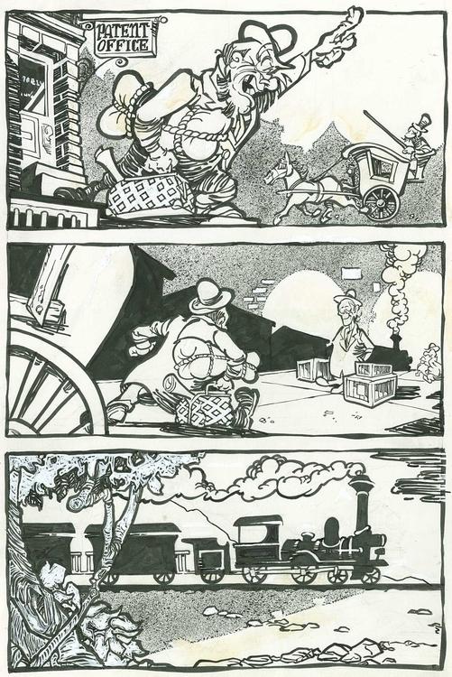 комиксы милтон