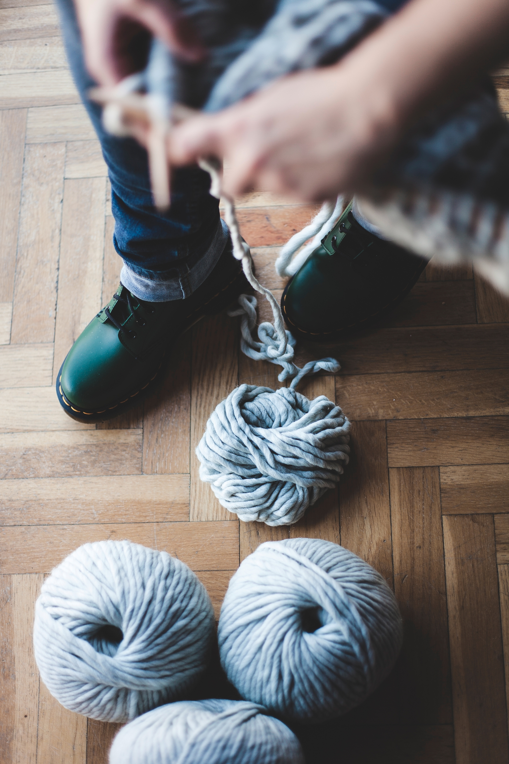 Perfect match: green boots big  - lehandmade | ello