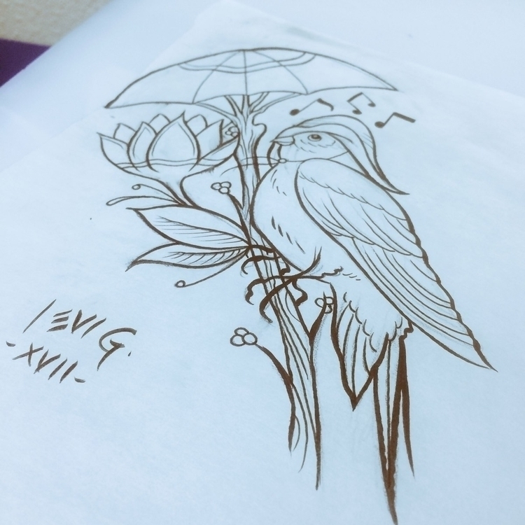 Rain bird tattooidea. Sing rain - levigreenacres | ello