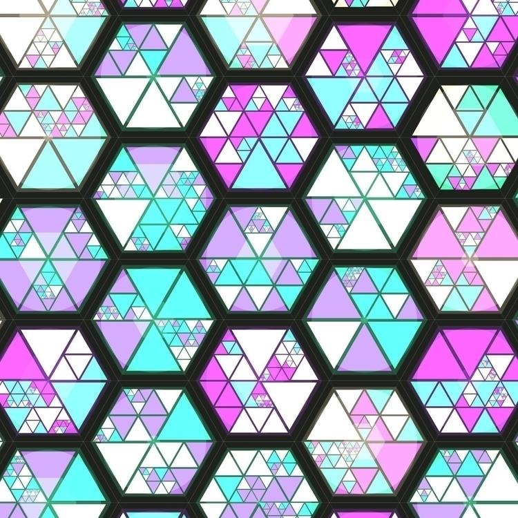 processing generative grid hexa - manoloide | ello