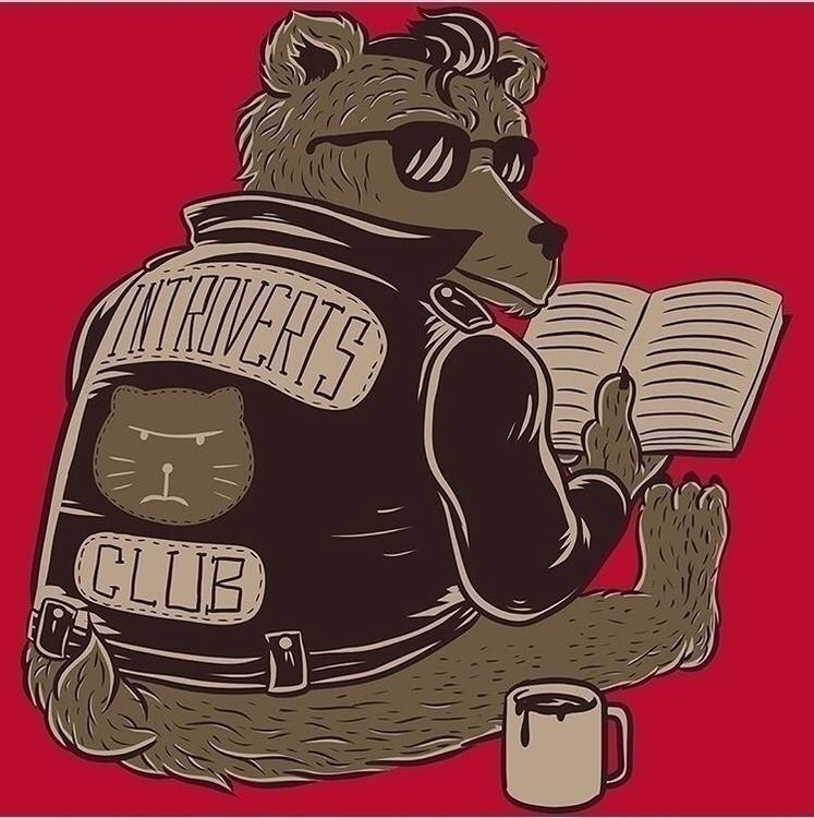 'The introverts club' accepting - darkskieskindeyes | ello