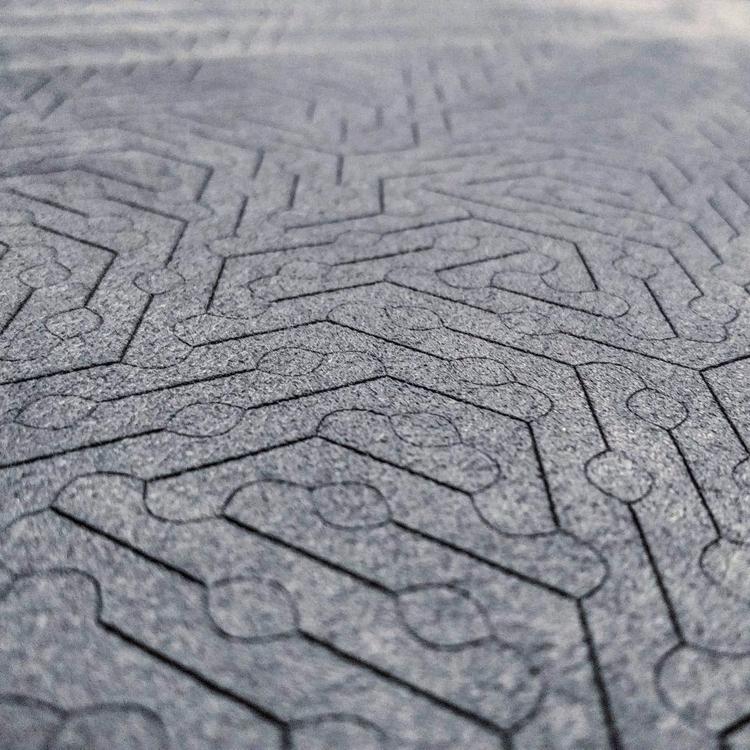 Laser etched ultrasuede I super - harold | ello