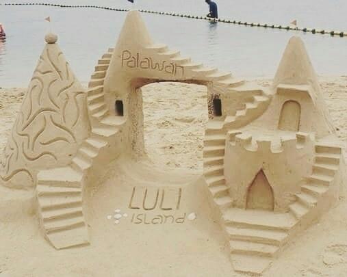 Sand Castle locals Luli Island, - rheaiyah | ello
