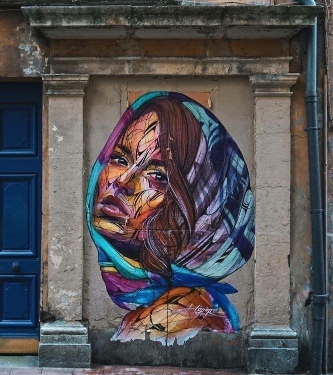 Artist: Hopare Location: Grenob - streetartunitedstates | ello
