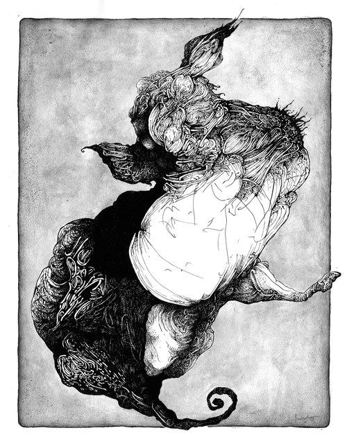 Conqueror Hippocampus Sea Rider - lisandrodemarchi | ello