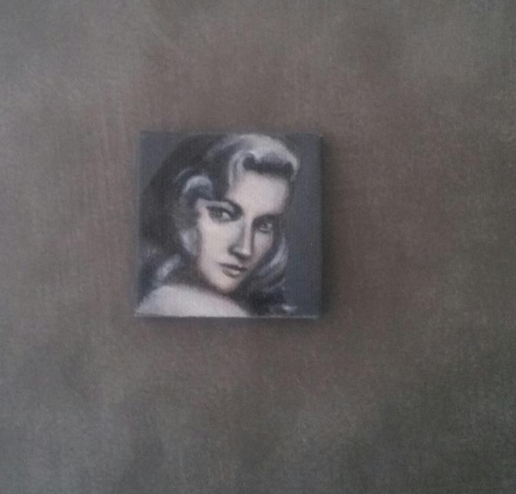 """Miniature portrait """"LAUREN BACA - nora_   ello"""