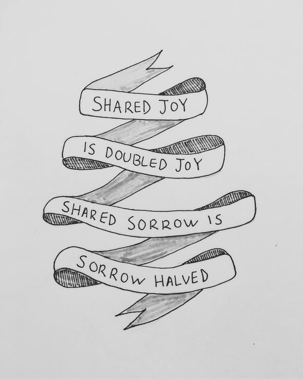 marker joy sorrow - theleggyblonde | ello
