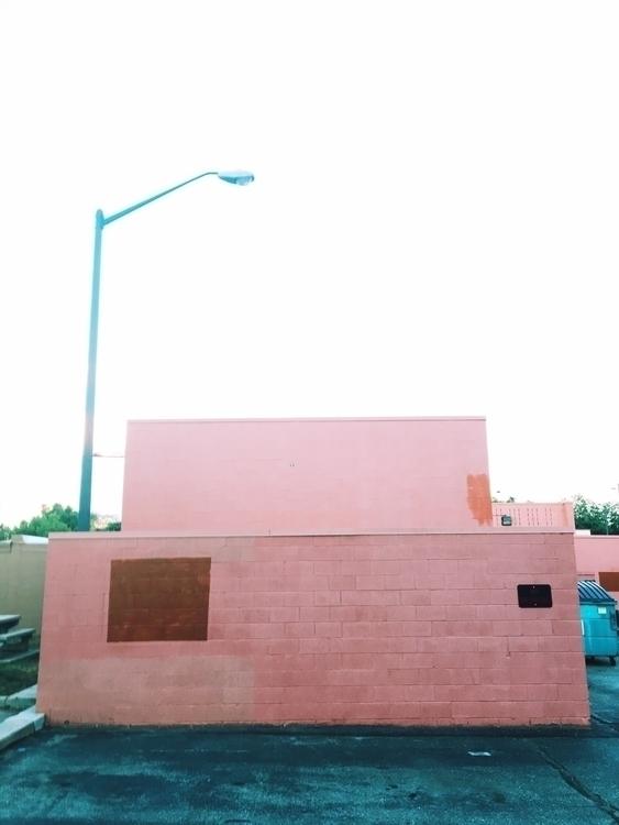 Pink Pantone structure city bui - theleggyblonde | ello