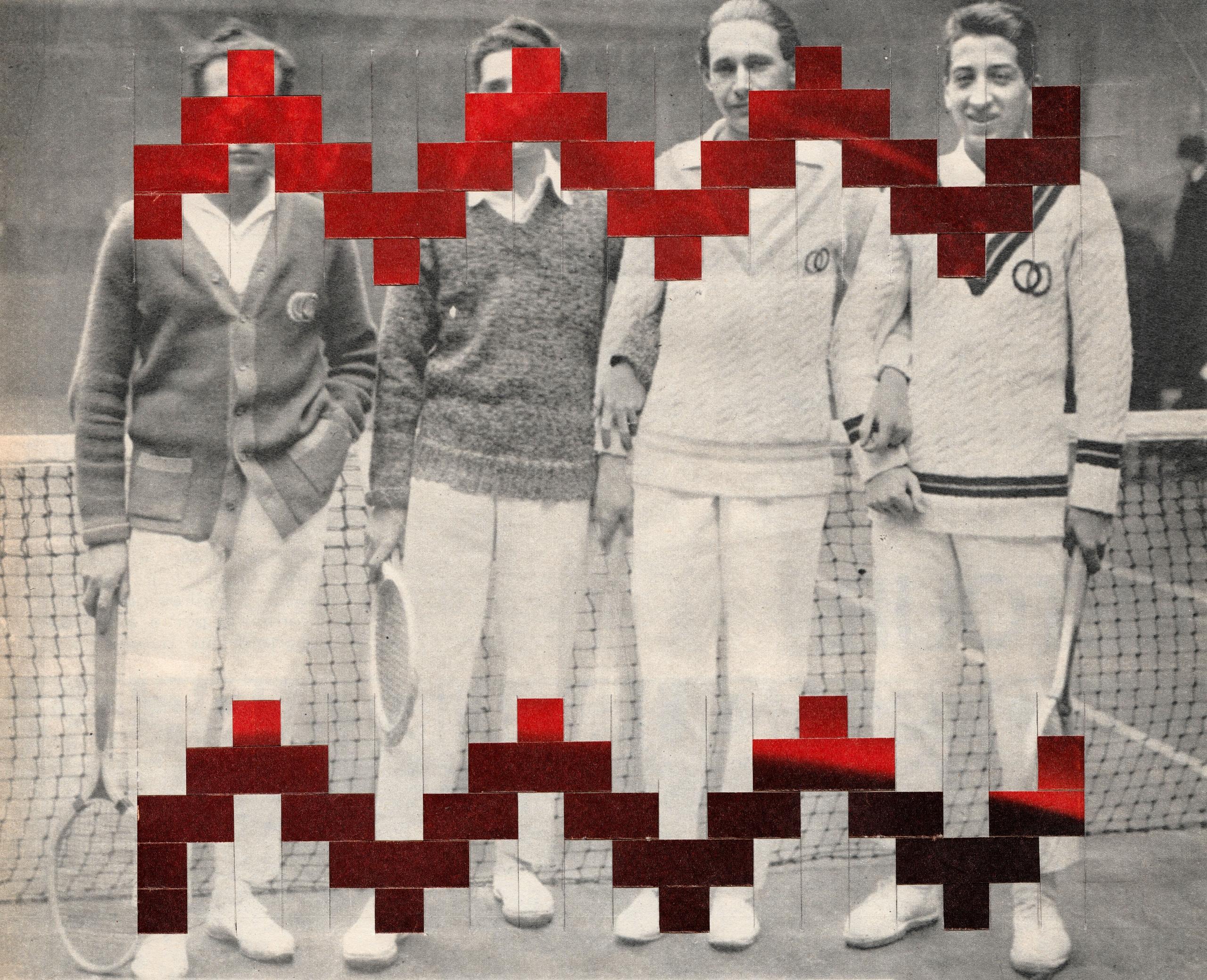 """""""Tennis 1922"""" - 25,5x20,5 cm Pa - claire_martine_   ello"""
