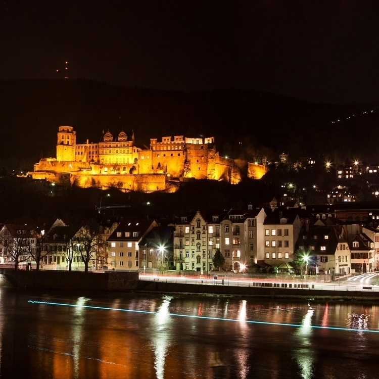 heidelberg castle night - grove | ello