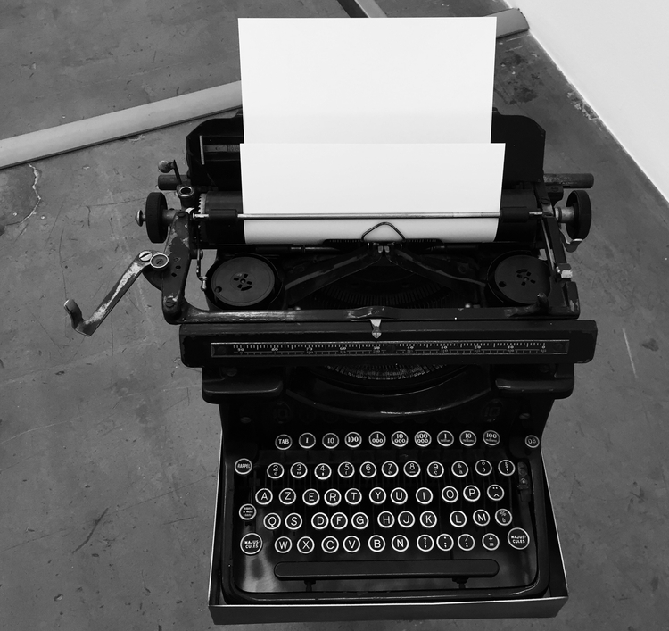 Unwritten Stories typewriter bl - treyjapan | ello