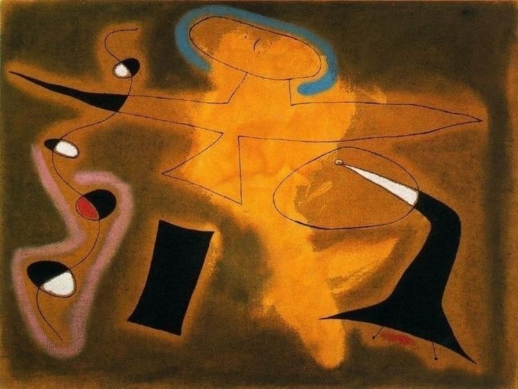 Joan Miró: The Flight Bird Plai - arthurboehm   ello