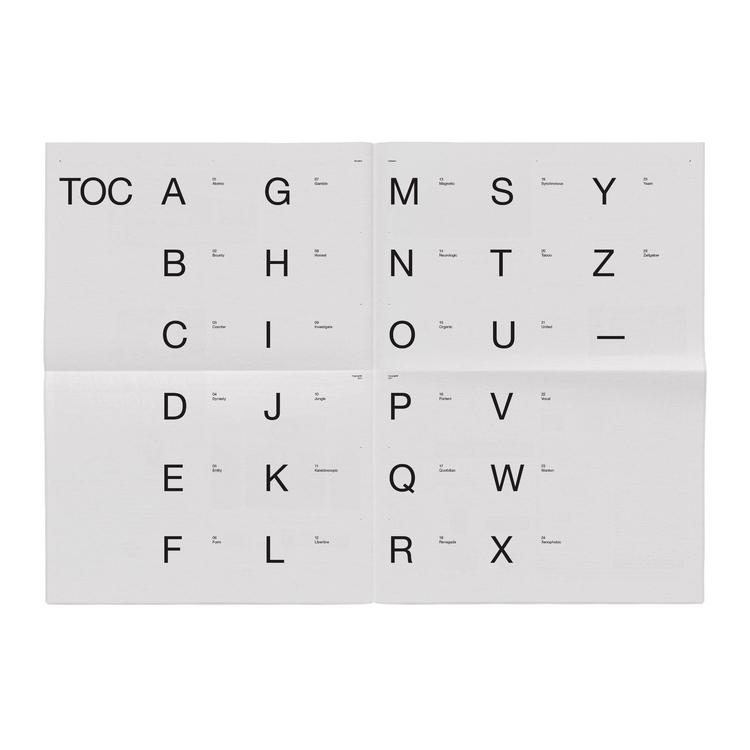 Alphabet—Newsprint - jschachterle   ello