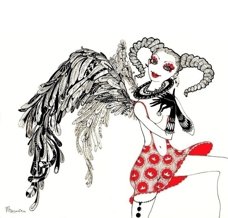 angel mirosedina art angelart - mirosedina | ello